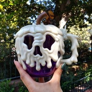 Disney Parks Purple Poison Apple Stein / Mug Cup